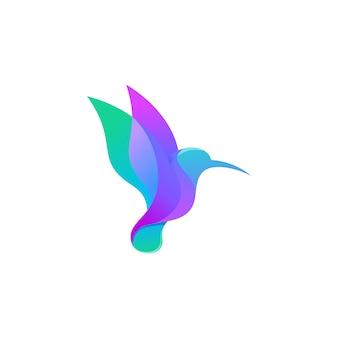 ハチドリのロゴ