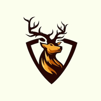 Логотип олень