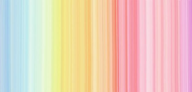 水彩テクスチャ虹の背景。