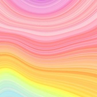 パステルカラーの大理石の虹のテクスチャ背景。