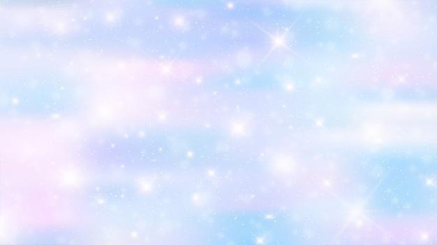 ホログラフィック妖精の背景