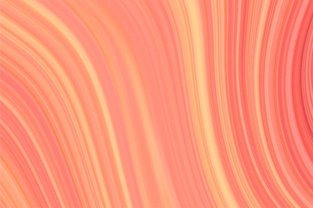 Цвет живого коралла на мраморной абстрактной предпосылке.