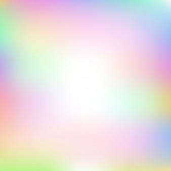 明るい虹色の抽象的なぼやけグラデーションメッシュ背景。