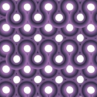 パープルサークルスニークパターン