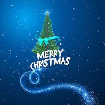 ツリーメリークリスマスファンタジー