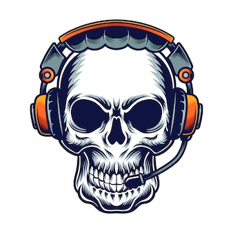 音楽の頭蓋骨