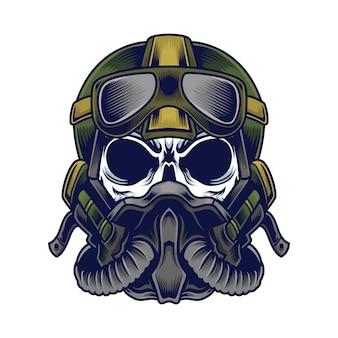 Пилот череп