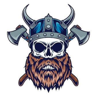 Череп викинга