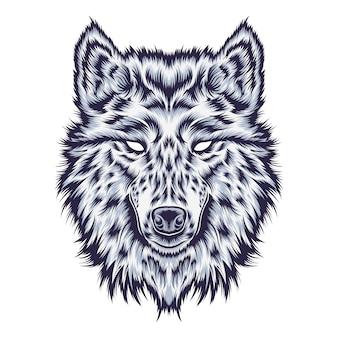 オオカミの図