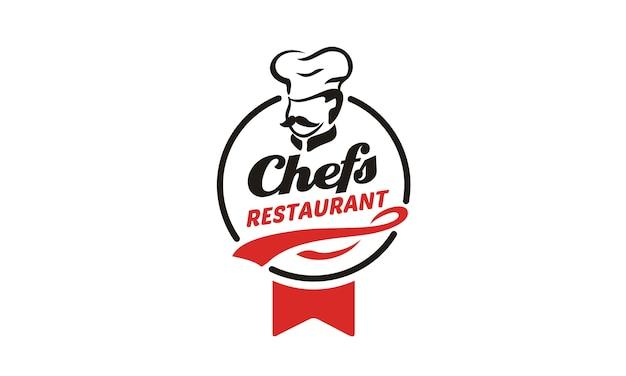 Дизайн логотипа шеф-повара / ресторана