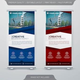 Шаблон бизнес-баннер