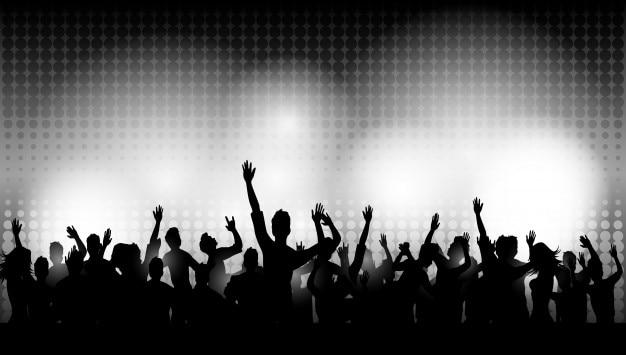 Партийные люди в клубе