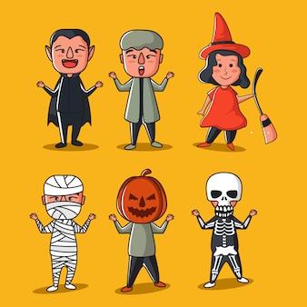 Коллекция костюмов хэллоуина