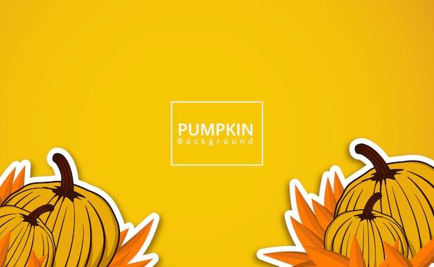 かぼちゃの背景