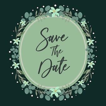 結婚式招待状のテンプレートの背景。カード、招待状の花の背景。