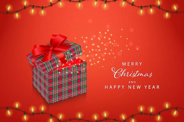 クリスマスの背景ベクトル