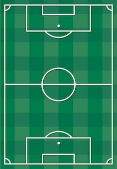 サッカーやフットボールのフィールド