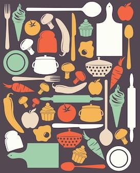 かわいいキッチンパターン