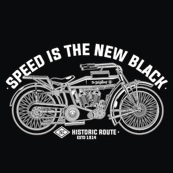 レトロバイクデザイン