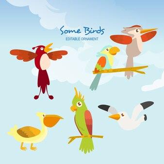 いくつかの鳥アレン