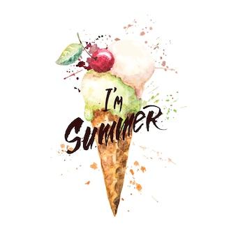 私は夏です