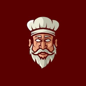 Шеф-повар логотип талисман