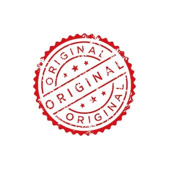 Оригинальный штамп вектор