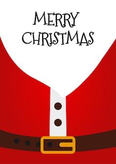 サンタクロースクリスマスカード