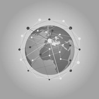 クラウドコンピューティングとネットワークのコンセプト