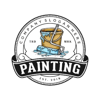 ロゴを塗る