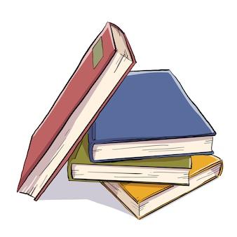 Куча цветных книг
