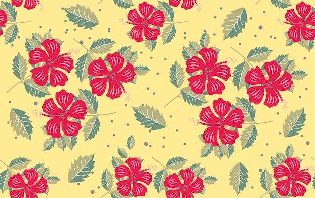 花の花のパターン