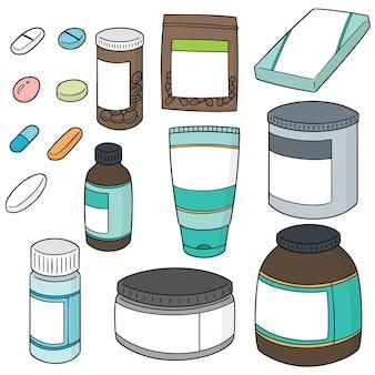 薬のベクトルセット