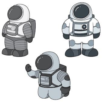 宇宙飛行士のセット