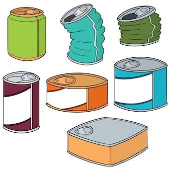 缶のセット