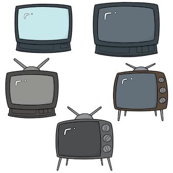 Векторный набор телевизоров