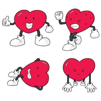 Векторный набор сердца