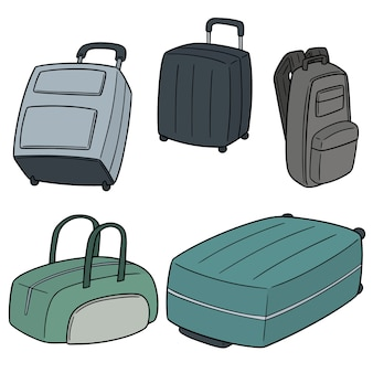スーツケースのセット