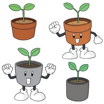 植物のセット
