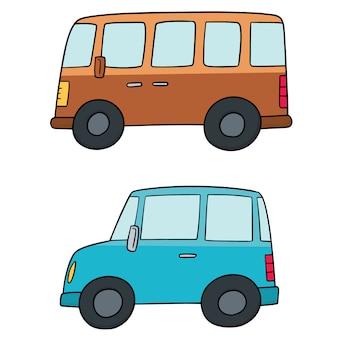 Набор автомобилей