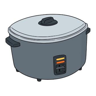炊飯器のベクトル
