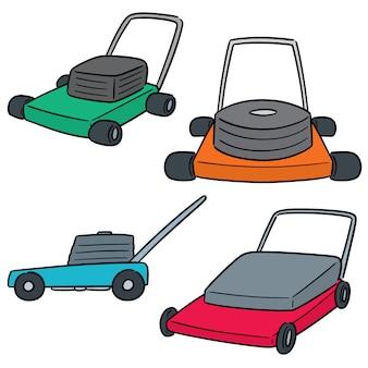 草刈り機のベクトルを設定