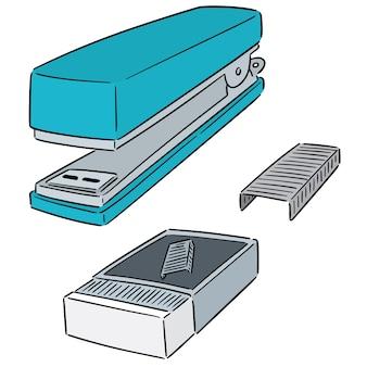 Векторный набор степлера