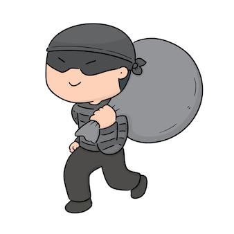 泥棒のベクトル
