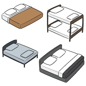 ベッドのベクトルを設定