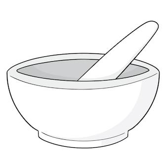 乳鉢と乳棒のセット
