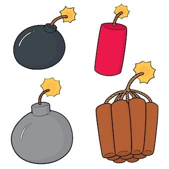 爆弾のセット