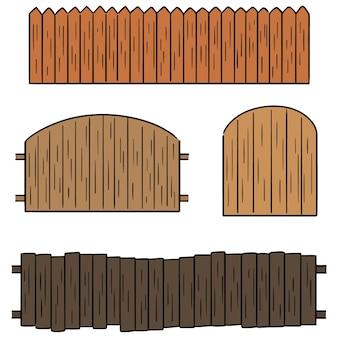 フェンスのベクトルセット