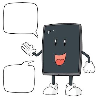 スマートフォンの漫画