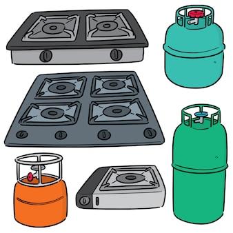 Набор газовой плиты
